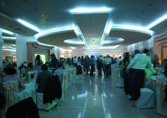restoran exclusive hall docek nove godine