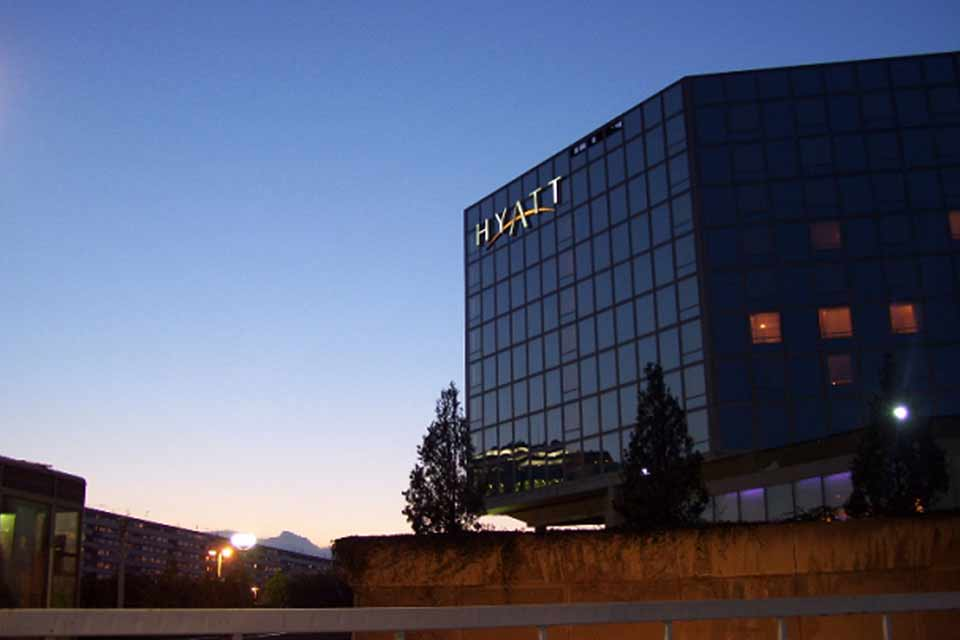 Hotel Hyatt Doček Nove godine